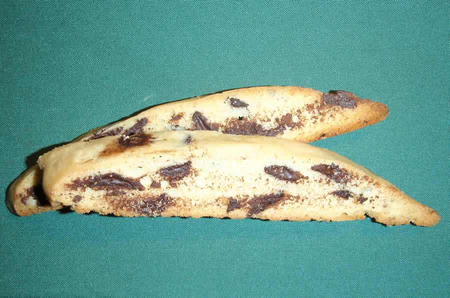 One Dozen Chocolate Chip Anise Biscotti